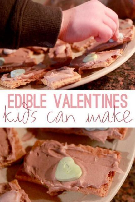edible valentines for kids to make
