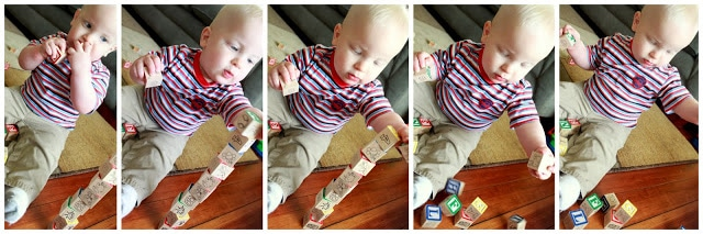 learning with baby play