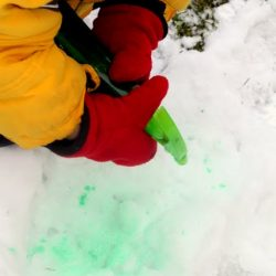 Color the Snow with tips from Hands On As We Grow