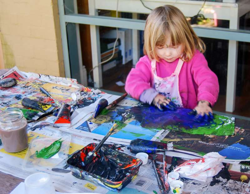 Let kids lead the way with arts and craft projects