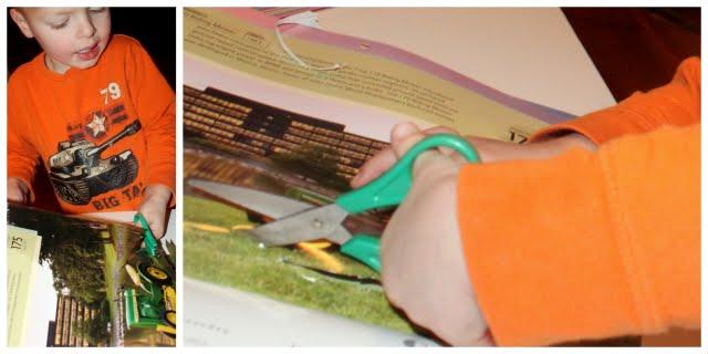 cutting scissors practice for preschoolers