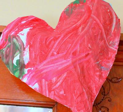 heart shaped stuffed balloon