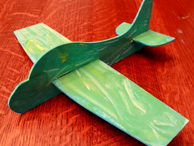 airplane craft from Green Kid Crafts