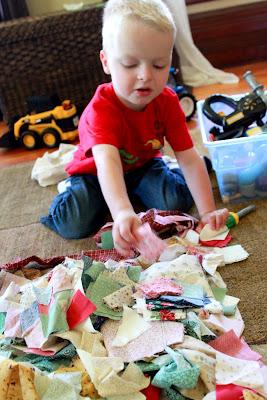 fabric free play