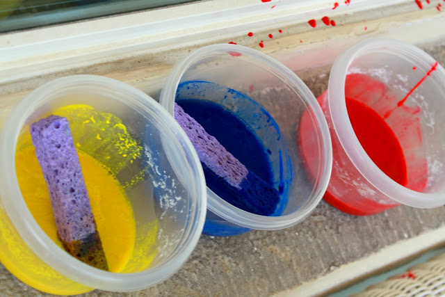 Make easy homemade window paint with a simple DIY recipe