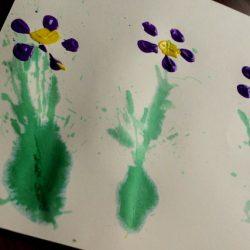Spring Flower Art Activity