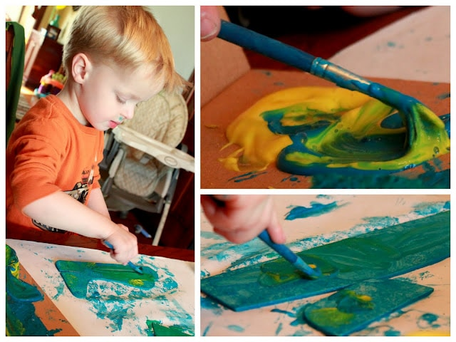 learn about mixing colors