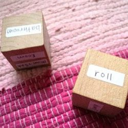 Block Dice Activity for Kids