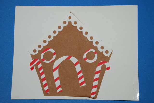 christmas card craft for preschoolers