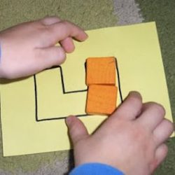 Fill in the Block Shapes Activity for Kids