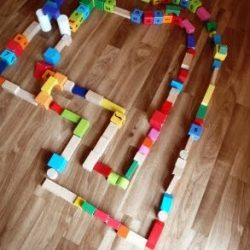Block Maze Activity for Kids
