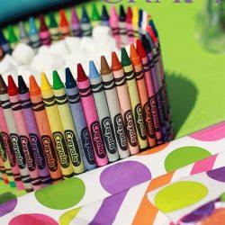 crayon dish craft