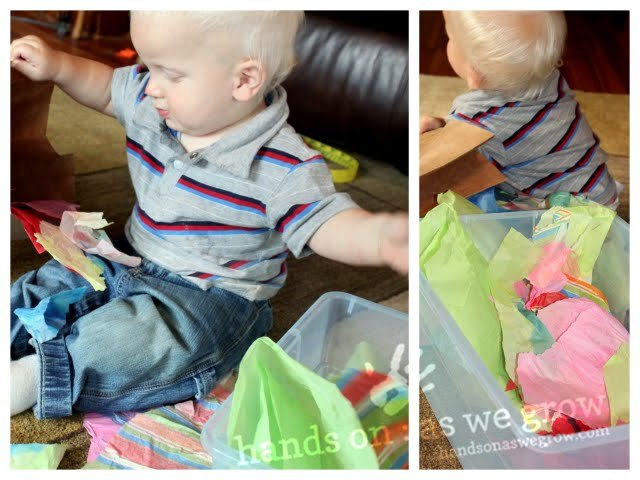 tissue paper for baby activity