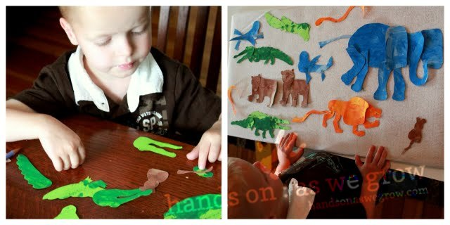 zoo animal puzzles for eric carle book