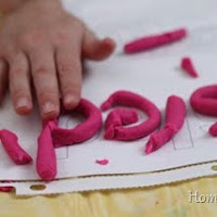 Use play dough for fine motor skills