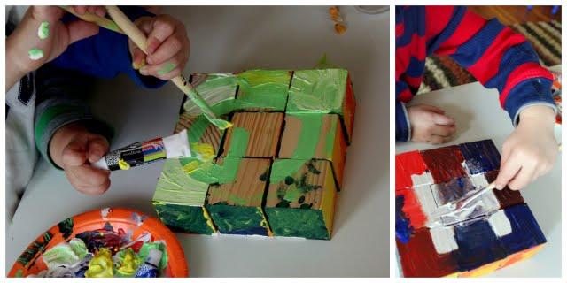 block craft puzzle