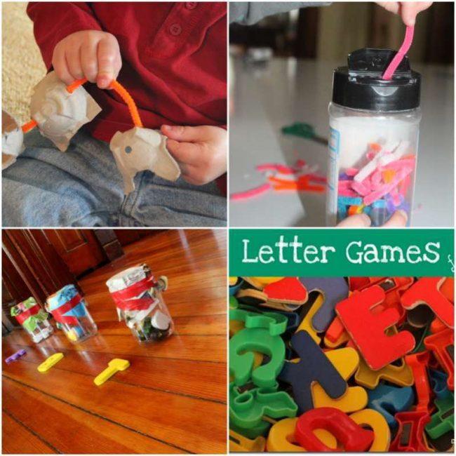 A week of hands on activities for the kids