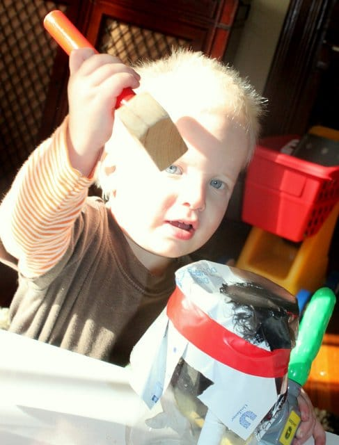 Toddler Activity Punch Game