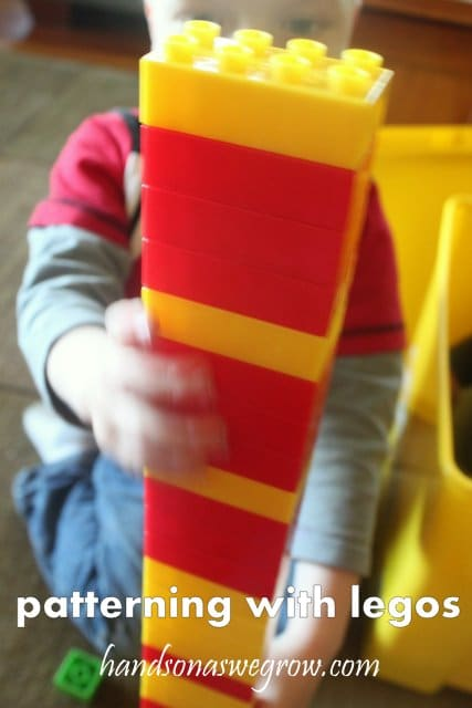 Learn patterning with Lego blocks!