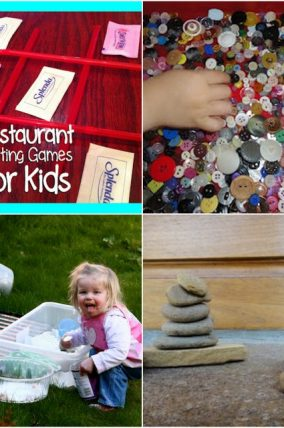 Busy Play Activities for Kids