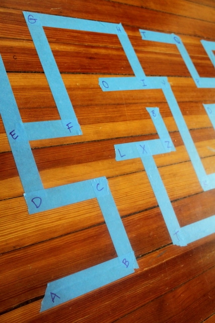 Alphabet Maze Activity for Kids to learn your ABCs