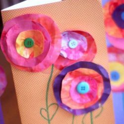 Layered Paper Flowers