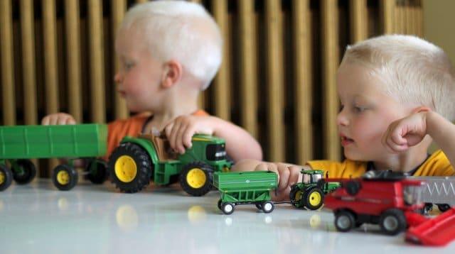 The Boys Farming