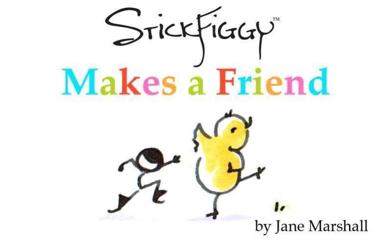 StickFiggy Makes a Friend