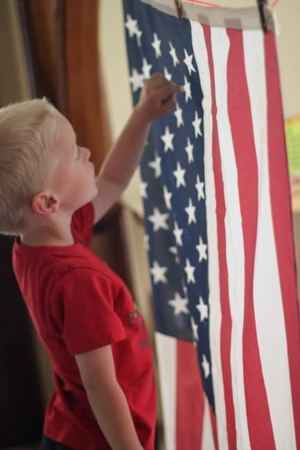 How many ways can you learn and create with the US flag?