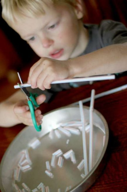 cutting-straws-fine-motor