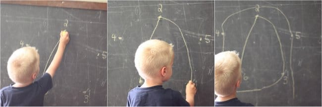 Preschool Activity Connecting the Dots