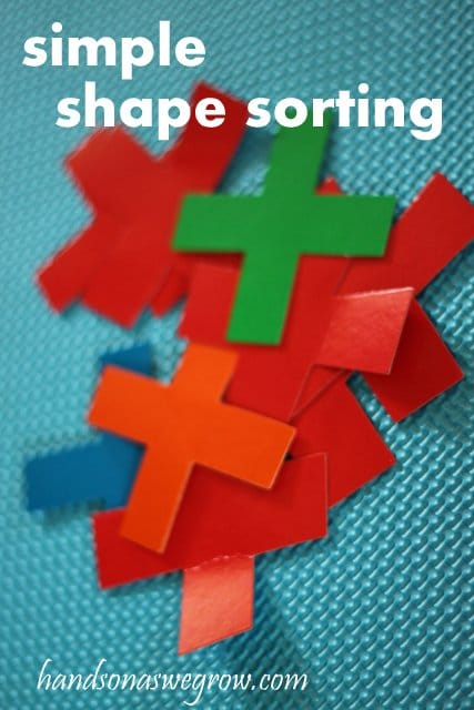 Shape Sorting for Preschooler