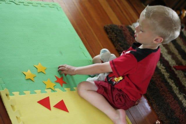 Shape Sorting for Preschooler (1)