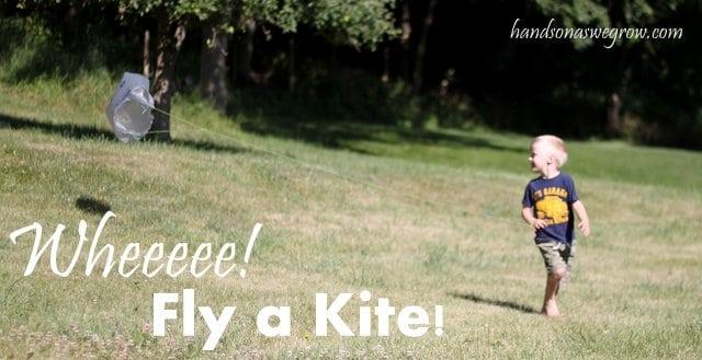 Fly a homemade Kite!