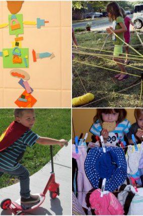 Activities to encourage kids imaginations!