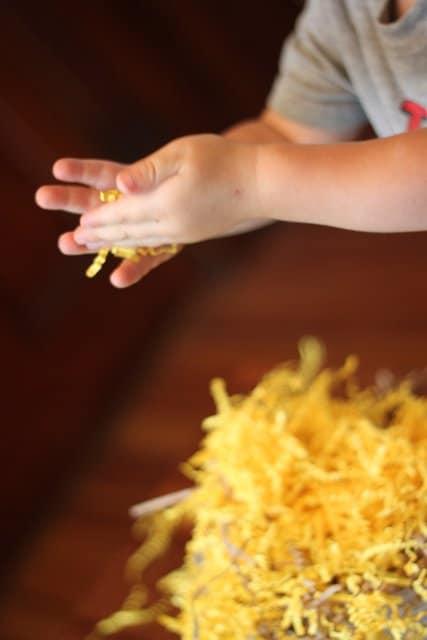Toddler Sensory Treasure Hunt
