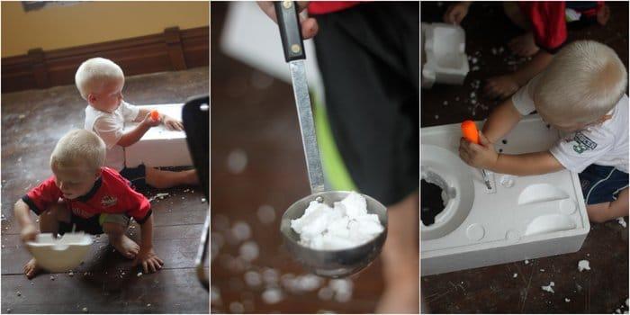 Styrofoam and Imaginations