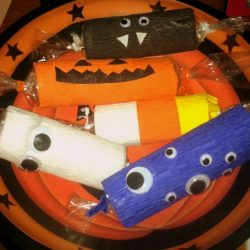 Halloween Kids Craft: Spooky Treat Holders or Candy Bags