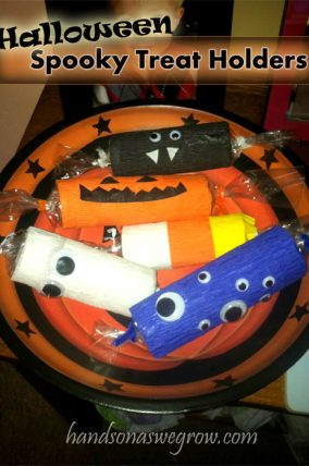 Spooky Treat Holders Halloween Craft for Kids