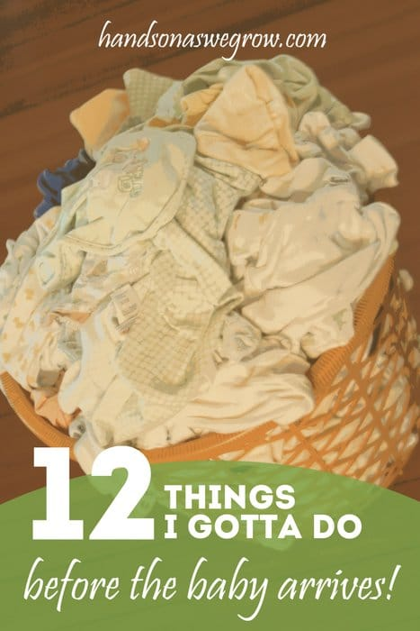 12 Things to Do Before Baby Arrives