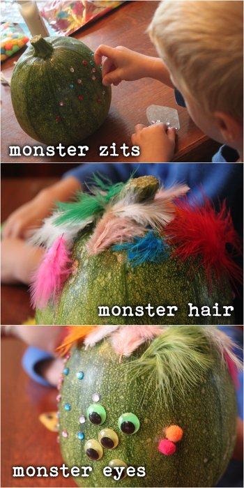 Monster Pumpkin Features
