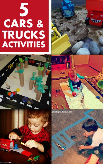 Cars and Trucks Activities