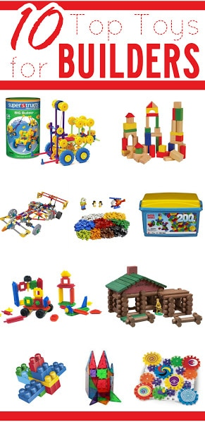 Top Toys for Builders