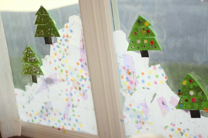 Decorate a Holiday Window
