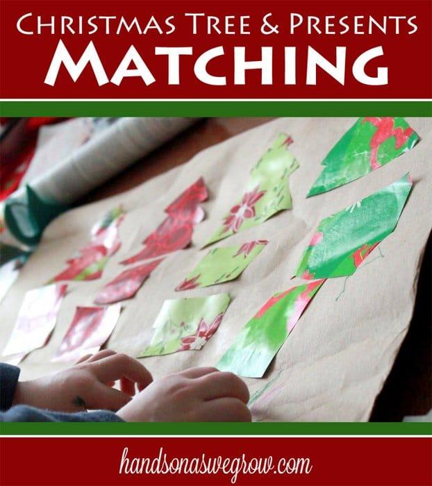 Christmas Tree & Presents Matching Game