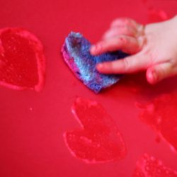Sponge Art Painting for Kids