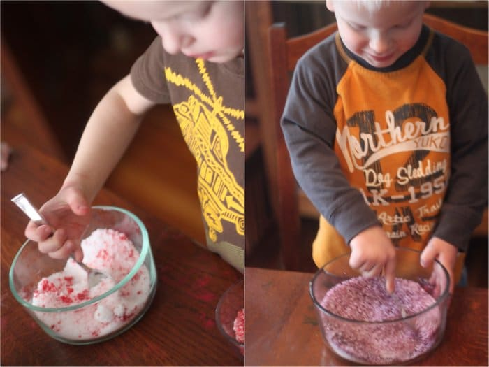 Coloring Salt for Vase Bottle Craft