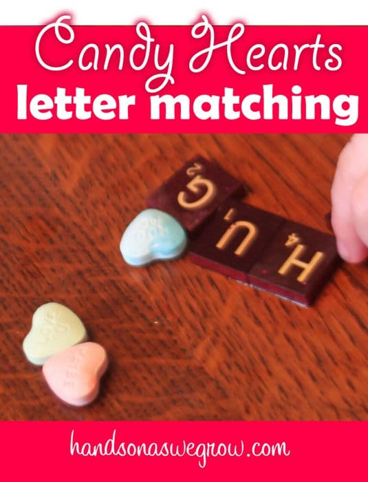 Valentine Letter Matching Activity