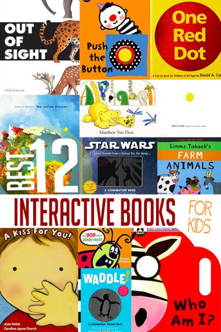 Discover some great interactive books for kids that you'll love reading again and again!