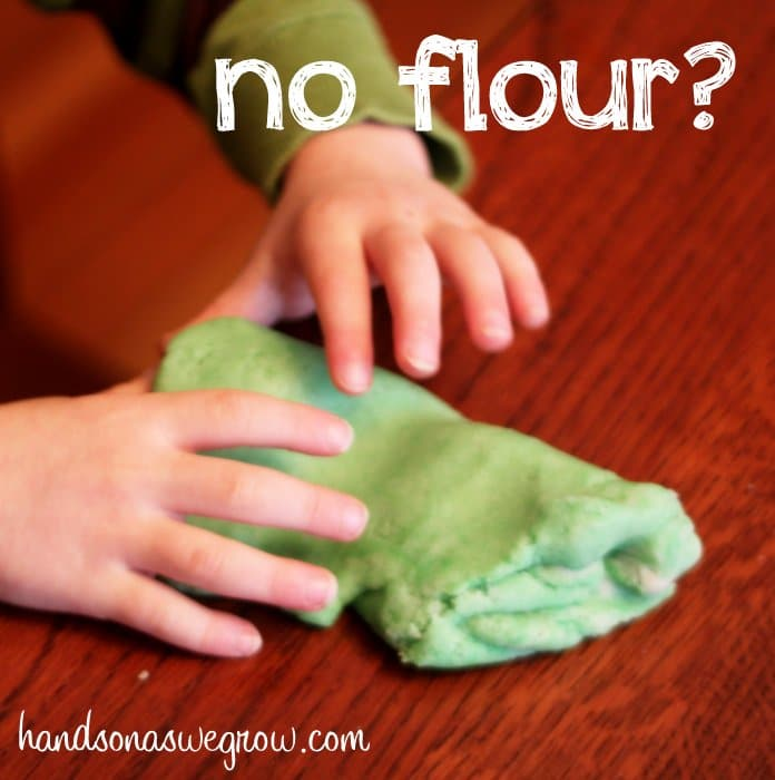 How to Make Play Dough: Recipe with Flour Substitute!